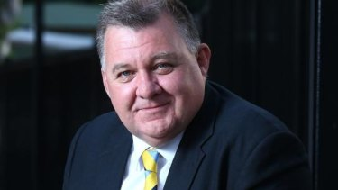 Craig Kelly says 'the plebiscite was a black-and-white election commitment'.