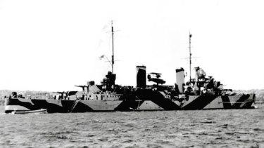 HMAS Perth.