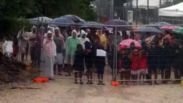 Slammed by the United Nations: the detention centre on Nauru.