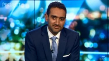 Project host Waleed Aly questioned Tomic's allegations against the organisation Tomic wanted to play for in the future.
