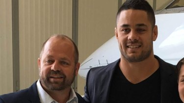 Backer: Norm Black and Jarryd Hayne.