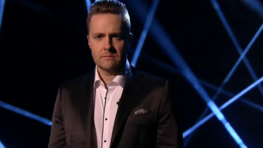Irish illusionist and hypnotist Keith Barry, co-star of You're Back in the Room.