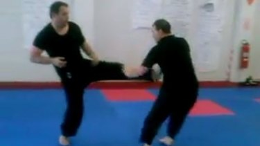 Paul Kennedy failed in his bid for full compensation after a video of him performing karate emerged.