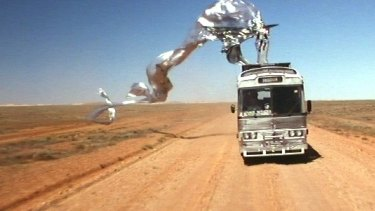 Unlikely: drag queens in the desert riding a bus called Priscilla.