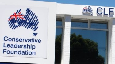The Conservative Leadership Foundation and the Australian Conservatives appear to share headquarters in Adelaide.