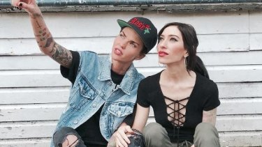 Ruby Rose and Jess Origliasso's relationship was rekindled on the set of