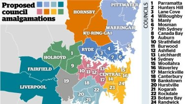 Only two councils are open to amalgamating with neighbouring councils.
