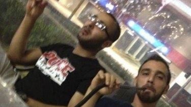 Terror attack plotters Mohammad Kiad and Omar Al-Kutobi.