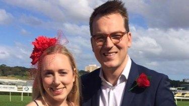 Nicholas Ruygrok and his fiancee Verity Zoerner.