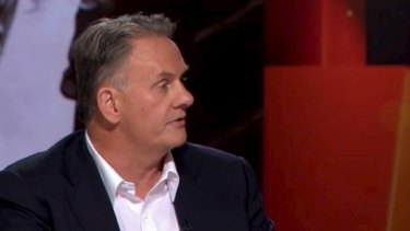 """Mark Latham lashed out at """"attention seekers"""" on <i>The Verdict.</i>"""