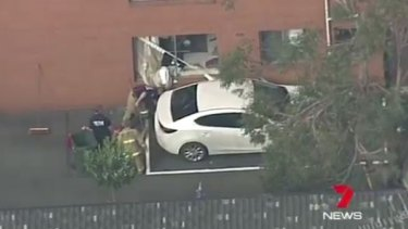 The cockroach bomb exploded inside the apartment in West Ryde.