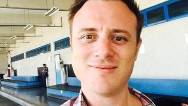 Damian Berg, 34, from Adelaide,has been been arrested in Manila.