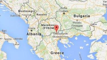 Idomeni, Greece, is right across the border from Macedonia.