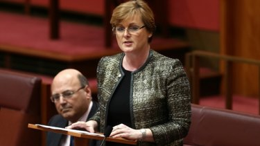 Liberal senator Linda Reynolds chaired the Joint Standing Committee on Electoral Matters.