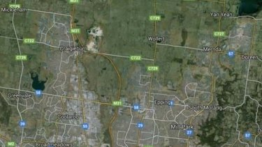 Google map of the same area covered by the satellite image  of interest for us. For Matt Dunckley story. Supplied