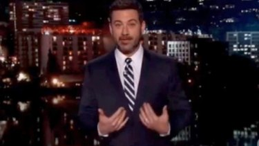Jimmel Kimmel has cracked jokes about the Amber Sherlock video.