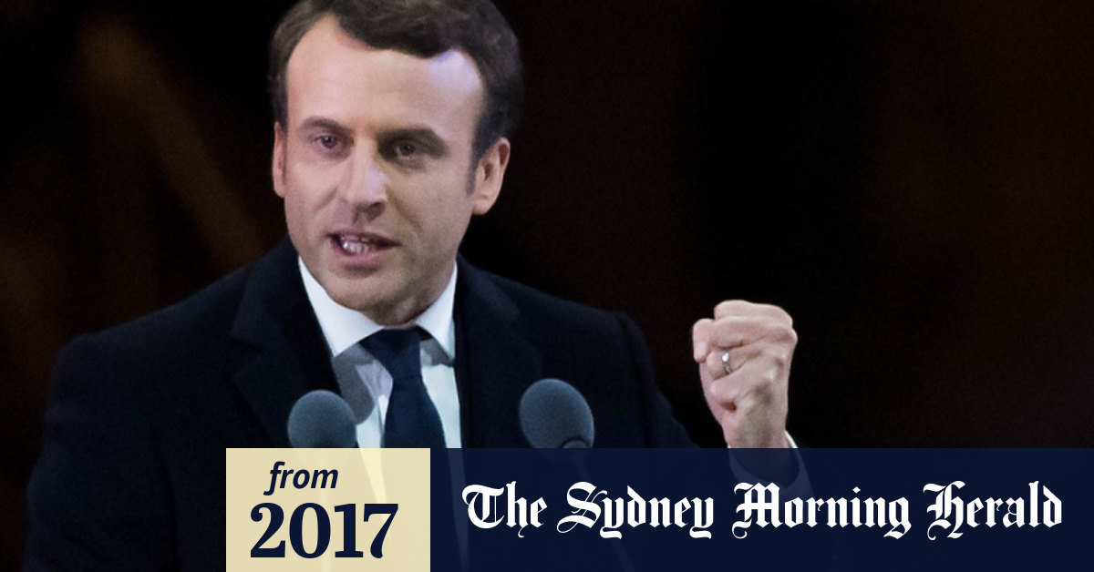 France Has Its New Napoleon The English Speaking Emmanuel Macron