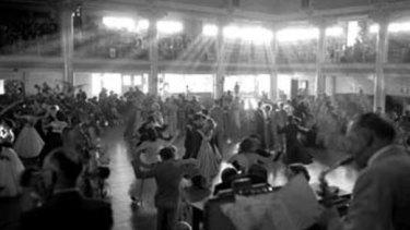 Cloudland Ballroom Brisbane in 1952.
