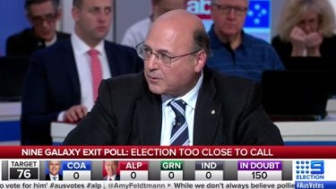 Senator Arthur Sinodinos raised the possibility of a rerun on election night.