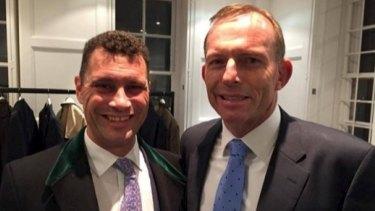 Tony Abbott also spoke with Ukip migration spokesman Steven Woolfe while in London.