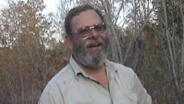 Murdered Balga man Greg Gibbard in the bush in Zimbabwe.