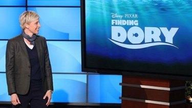 Ellen DeGeneres announcing Finding Nemo sequel