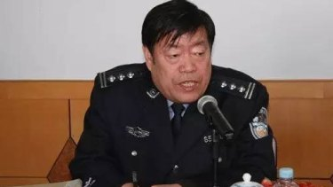 Jailed: Wang Jun Ren police chief of Guta District of Jinzhou City.