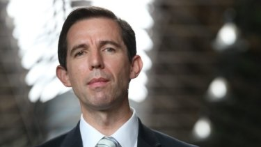 Education Minister Simon Birmingham says he will play a 'leading role' in redesigning the VET FEE-HELP scheme.