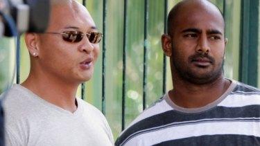 Awaiting execusion: Myuran Sukumaran and Andrew Chan.