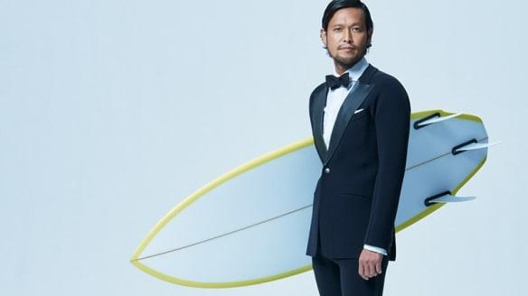 Quiksilver's new business suit doubles as a wetsuit
