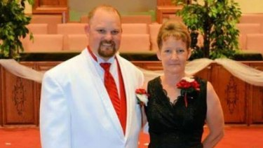 Chuck Smith and his mother Tamara Turner on his wedding day in May 2014.