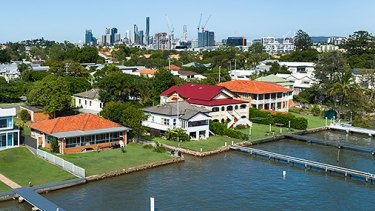 Academic Laurel Johnson said it was no surprise riverside suburbs like Bulimba were some of the states most wealthy.