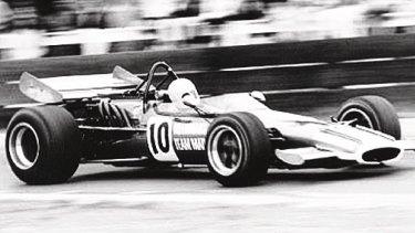 The McLaren M10B Repco Formula 5000 in which Frank Matich won the 1970 Australian Grand Prix at Warwick Farm.