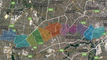 The government plans to rezone around 11 stations along the Sydenham to Bankstown corridor.