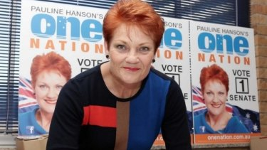 Pauline Hanson's One Nation voting base was decimated by John Howard in the 2001 federal election.