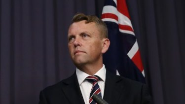 Queensland transport minister Scott Emerson.