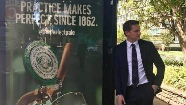 Canning MP Andrew Hastie makes light of the furore brewing on Twitter over his discussion about gay marriage.