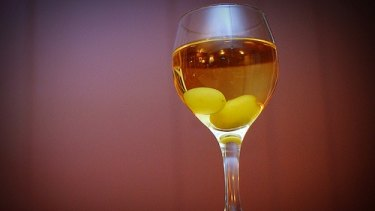Circle of life: Frozen grapes will cool your white wine without diluting the flavour.