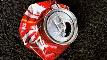 Aluminium cans and plastic bottles are among the containers eligible for the NSW ''cash for cans'' program.