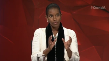 Ayaan Hirsi Ali has cancelled her Australian speaking tour and an appearance on Q&A.