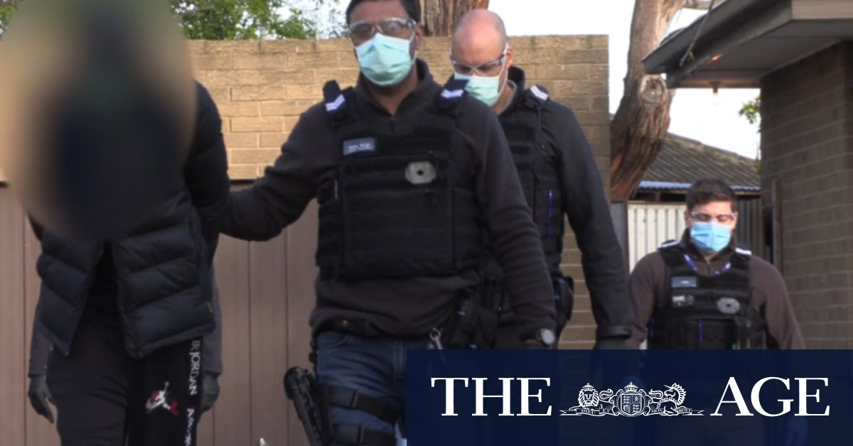 Thirty men arrested in 'street gang' police operation – The Age