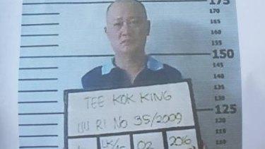 Malaysian man Tee Kok King is also on the run.
