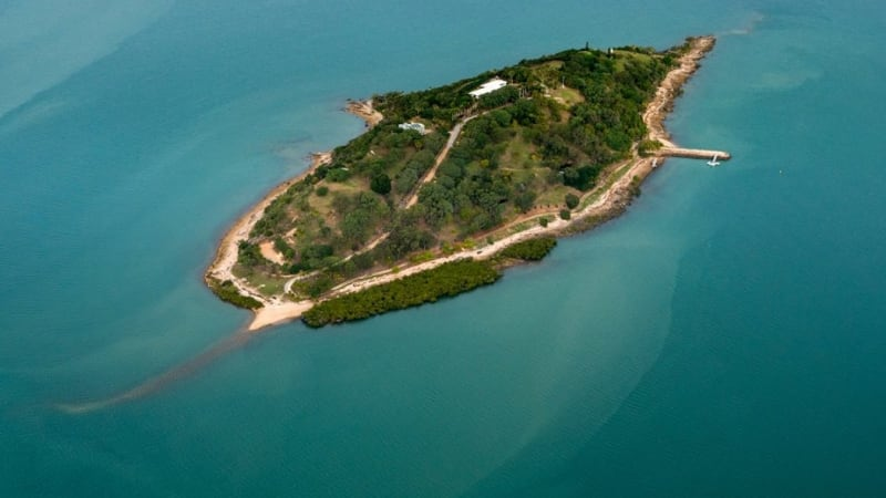 Turtle Island With Resort Approval Up For Sale For About
