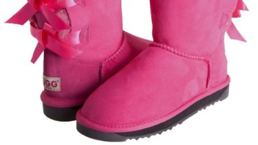 """""""It seems like China can't get enough of Australian ugg boots."""""""