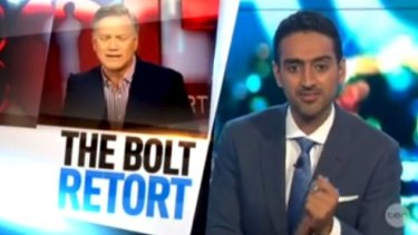 Waleed Aly takes on Andrew Bolt over climate change science on The Project.