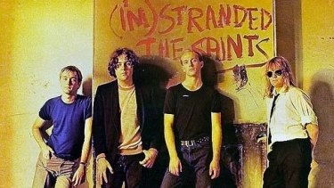 The Saints' <i>I'm Stranded</i> album cover.