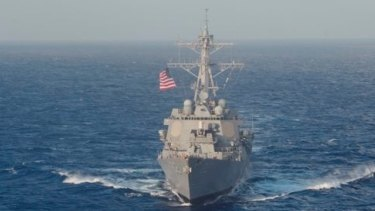 The USS Lassen, a US Navy ship that has sailed through the South China Sea regularly.