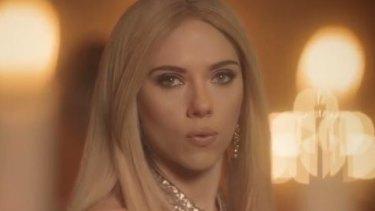 Scarlett Johansson as Ivanka Trump on <i>Saturday Night Live</i>.