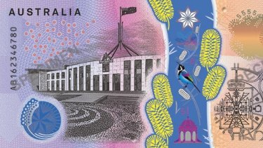 The new $5 note has many new features - but won't work in pokies..