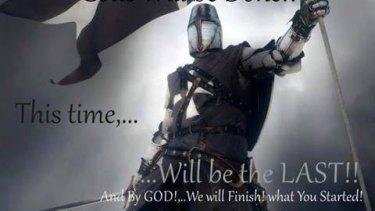 Facebook profile picture of United Patriots Front lead member Chris Shortis